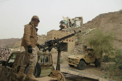 مقتل 4 من تنظيم القاعدة وأسر آخر بشبوة