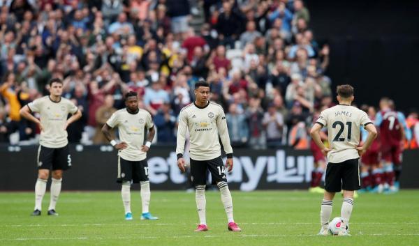 مانشستر يونايتد يسقط في ضيافة وست هام