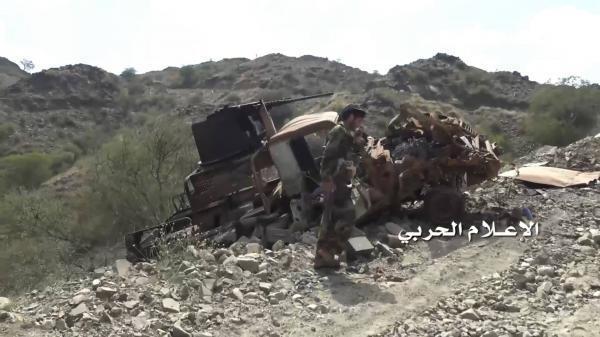 صد تسلل للمرتزقة وإعطاب آلية شرق صنعاء