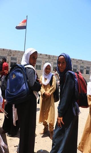 الهلال الإماراتي يعيد تأهيل مدرسة أخرى في الساحل الغربي