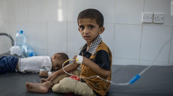 انتشار موجة جديدة من الكوليرا في إب ووفاة طفلة