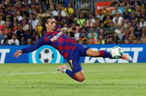 تغريم برشلونة 300 يورو فقط بسبب صفقة ضم جريزمان