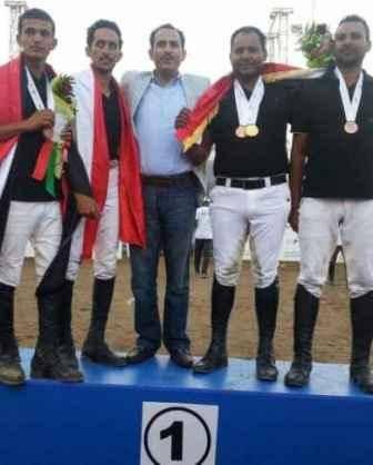 &#34يمن موبايل&#34 تكرم منتخب الفروسية الفائزة ببطولة عمان العالمية