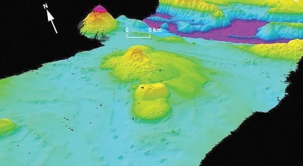 خريطة جديدة لقاع المحيطات تكشف تفاصيل أغوار مذهلة