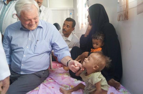 """""""حالة الطوارئ المنسية"""" - مع ستيفن أوبراين في اليمن"""