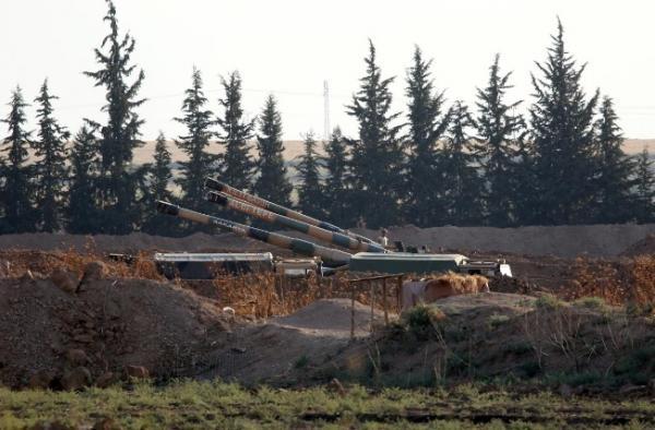 تركيا تقول إنها قصفت الحدود السورية-العراقية قبل هجوم معتزم