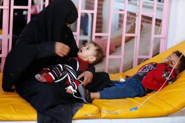الكوليرا تودي بحياة الأجنة مع انتشار الوباء في اليمن