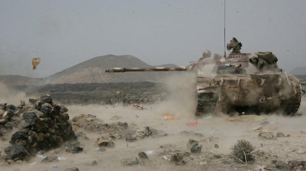هجومان على مواقع المرتزقة بالجوف