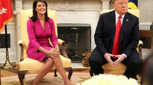استقالة &#34مفاجئة&#34 للمندوبة الأمريكية بالأمم المتحدة