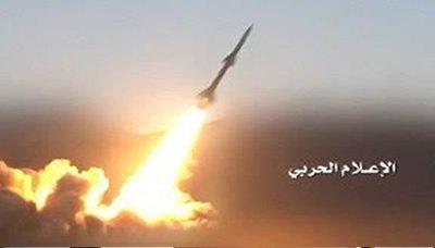 باليستي يمني يدك مركز قيادة جيش العدو السعودي