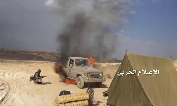 وحدات الجيش تهاجم مواقع العدو السعودي بنجران