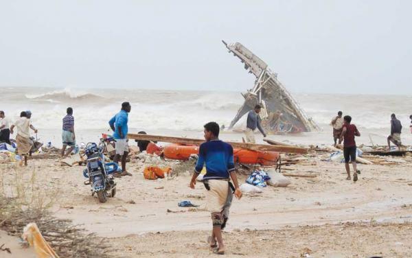 كل ما تريد معرفته عن الإعصار &#34لُبان&#34 وتأثيره على سواحل اليمن وعمان