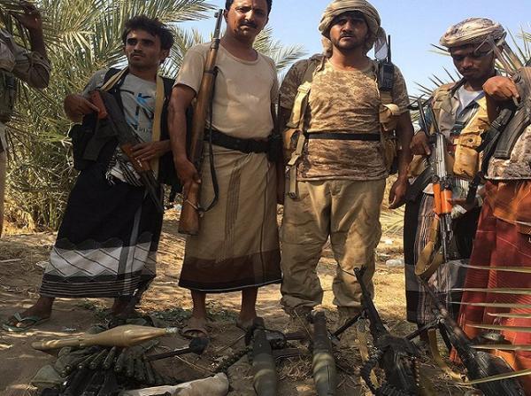 مشاهد أولية تظهر جانباً من معركة تحرير مواقع استراتيجية في بيت الفقيه بالحديدة