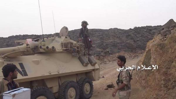 الجيش اليمني يدك مواقع وتجمعات سعودية