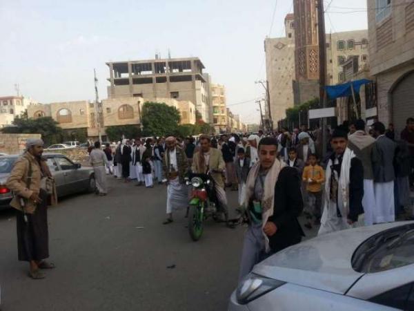 مليشيات الحوثي تختطف إمام مسجد البر في إب