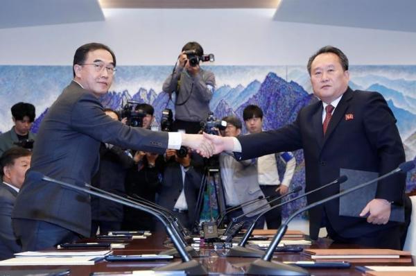 اتفاق بين الكوريتين للإسراع في ربط سكتي حديد البلدين