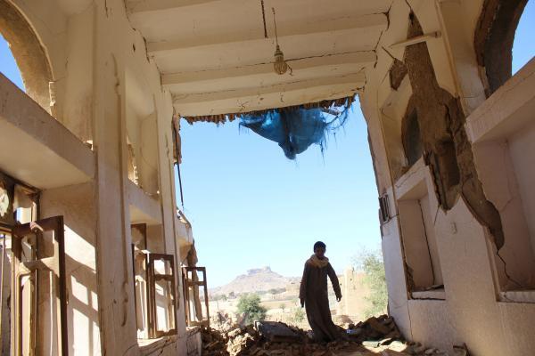 استشهاد مدني وإصابة آخر في قصف جوي على صعدة