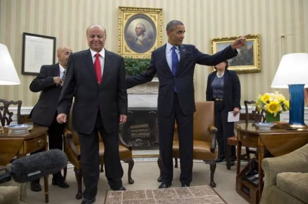 ترجمة| اوباما يدعو هادي الى صياغة دستور جديد، واطلاق السجل الانتخابي، واجراء انتخابات في أسرع وقت