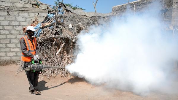 مركز الملك سلمان بالخوخة يدشن مكافحة نواقل الأمراض