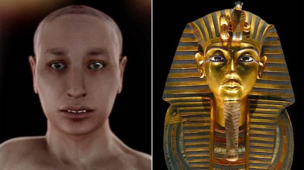 علماء بريطانيون يشكلون صورة أكثر تفصيلا لتوت عنخ آمون