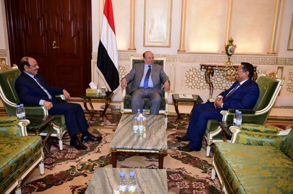 خطة السلام الأممية في اليمن: تنحي هادي والأحمر