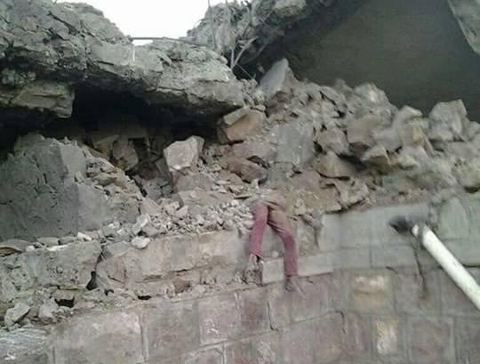 نعتذر لنشر الصور  ضحايا مجزرة الغارات السعودية على &#34الصلو&#34 في اليمن (+18)