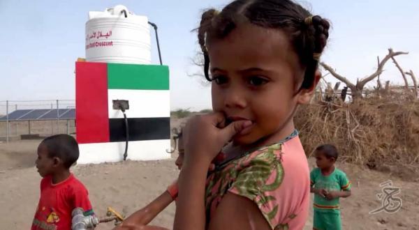 إنجازات ملموسة للهلال الإماراتي في تأمين مياه الشرب بالساحل الغربي