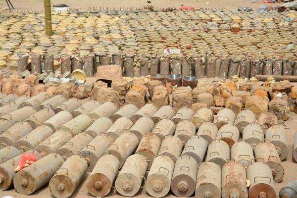 الضالع.. مليشيا الحوثي تزرع حقل ألغام في الطريق الرابط بين الفاخر وحمام النبيجات