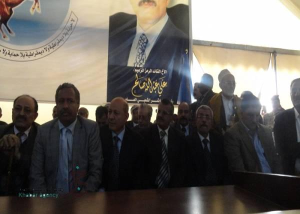 ابو راس نائبا ثانيا لرئيس المؤتمر والقربي امين عام مساعد