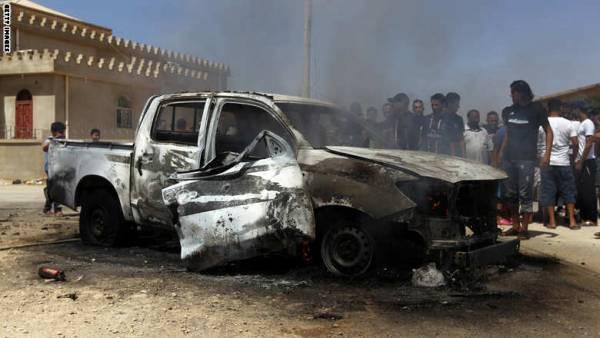 ليبيا: انفجاران يهزان مكان اجتماع وفد الأمم المتحدة مع الثني دون إصابات
