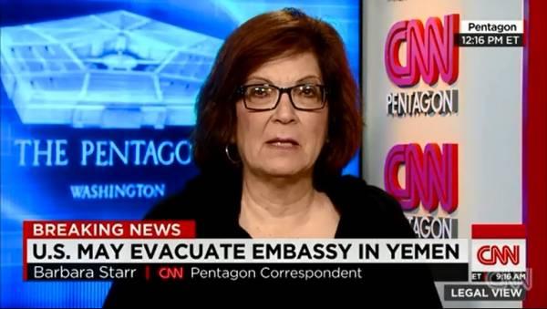 ترجمة| CNN تنقل عن مسئول بالدفاع الأمريكية تلويحاً بتدخل عسكري في صنعاء