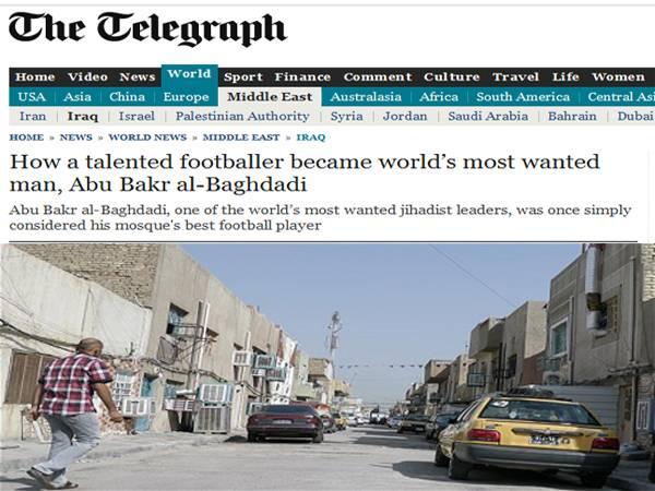 تلغراف: أبو بكر البغدادي.. من لاعب كرة قدم إلى الإرهابي الأول المطلوب في العالم