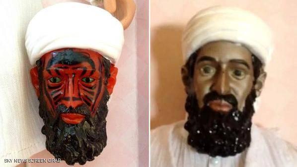دمية &#34مخيفة لـ&#34بن لادن&#34.. في مزاد