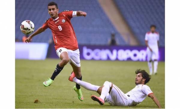 قناة bein sport تعلن منح اللاعب اليمني علاء الصاصي جائزة أفضل لاعب في مباراة اليمن والبحرين