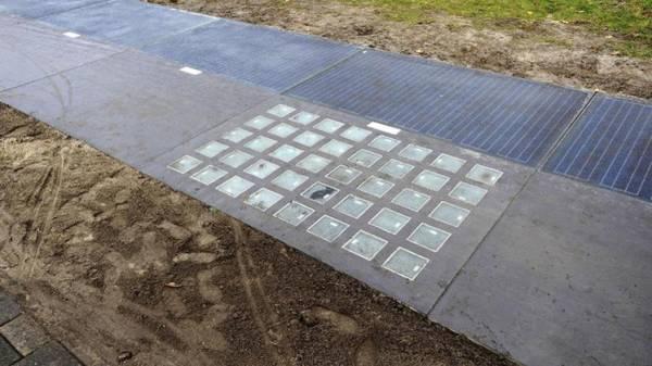 هولندا تكشف النقاب عن أول طريق للدراجات الهوائية في العالم يُولِد طاقة شمسية