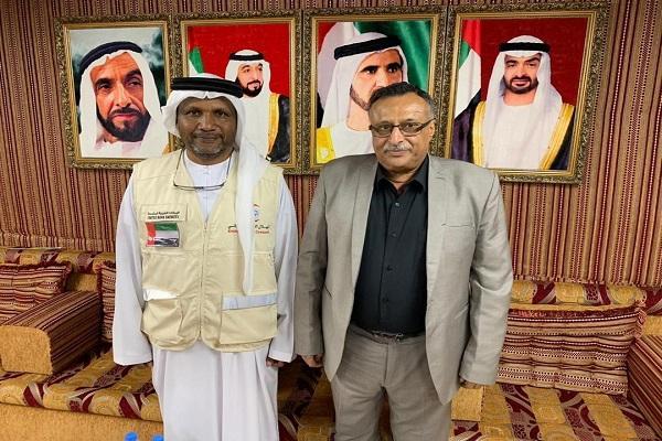 ممثل هلال الإمارات يلتقي مأمور المنصورة لمناقشة سير عمل مشروع &#34باب رزق&#34 وتنفيذ حملة نظافة