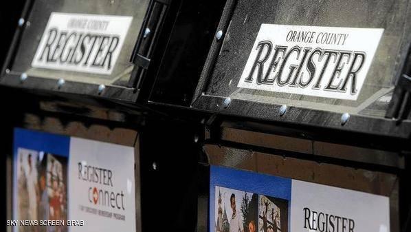 صحيفة تلجأ إلى وسيلة طريفة لتوزيع نسخها