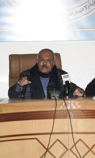 صالح : لـ &#34الالتزام بوقف إطلاق النار، والشروع بالحوار اليمني السعودي&#34