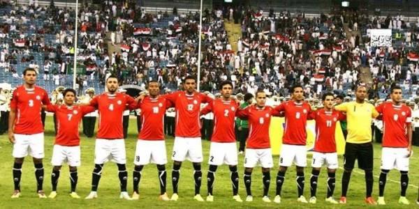 تشكيلة المنتخب اليمني قبيل لقائه مع نظيره السعودي
