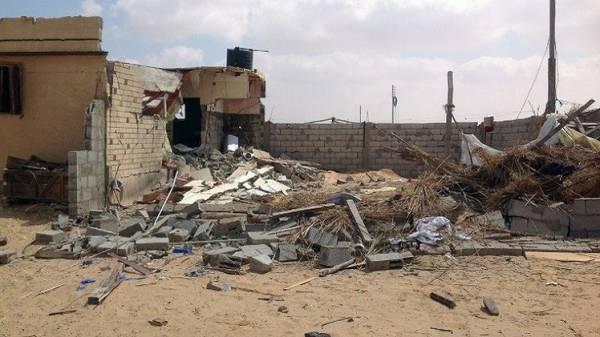 مصر.. مقتل 10 أشخاص بصاروخ سقط على منزلهم في سيناء