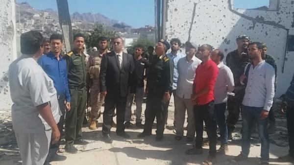 الداخلية اليمنية تدشن إعادة تأهيل كلية الشرطة في عدن