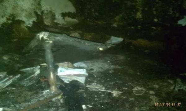 النيران تلتهم منزل الكاتب اليمني غيلان