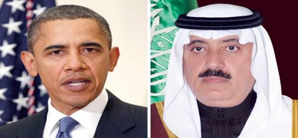 ترجمة| الرئيس الأمريكي ووزير الحرس الوطني السعودي يبحثان &#34الأمن في اليمن&#34