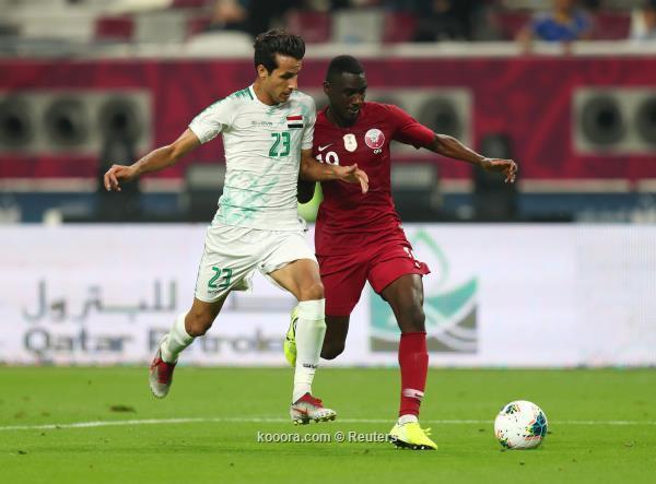 العراق يستهل كأس الخليج بالفوز على قطر