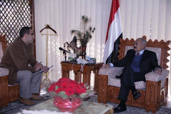ترجمة  الرئيس اليمني السابق يتحدث عن الوضع السياسي الراهن (مقابلة)