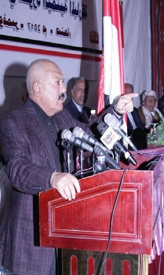 الزعيم صالح يكشف عن خارطة طريق لانهاء العدوان ويوجه دعوة لوسائل الاعلام (نص الكلمة)