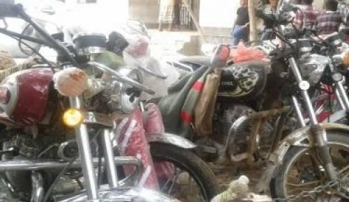 شرطة عدن تنفذ حملة لضبط الدراجات النارية المخالفة