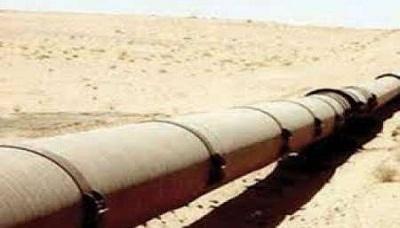 اصلاح أنابيب النفط شرق اليمن