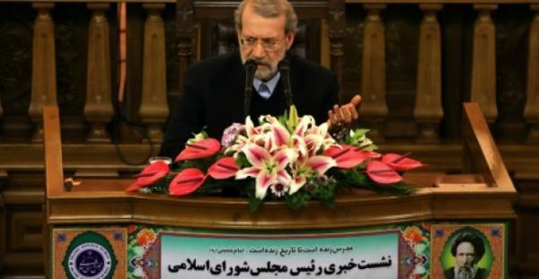 رئيس مجلس الشورى الإيراني لاريجاني: إيران تواجه &#34تحديات مزمنة&#34 تتجاوز العقوبات الأمريكية