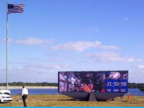 وكالة ناسا تغير ساعة العد التنازلي التاريخية بعد 45 عاما